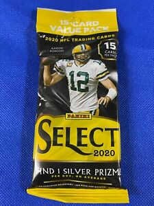2020 Panini Select Football Sealed Fat Pack Cello Retail HERBERT? Free Shipping