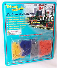 Triang Ships 1-1200 Container Blocks Harbour bits mib