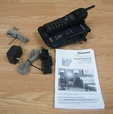 Panasonic (KX-TC1486B) 900MHz Cordless Phone With Caller, ID Base & Handbook