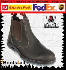 RedBack UBOK Chelsea Boots Schuhe Stiefeletten Braun Echtleder