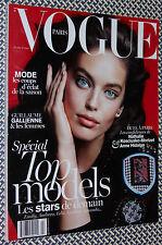 PARIS VOGUE, Top Models, Dominique Lévy, Emily DiDonato, Anne Hidalgo