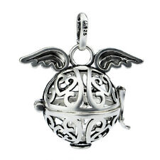 Fashion Wings Angel Caller Harmony Ball Mexican Bola Chime Sound Cage/Pendant