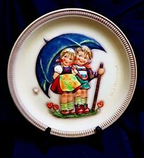"""Stormy Weather"" - Hummel Anniversary Plate #280 ~ 1975 -10"" -Tmk~5 ~1st Edition"