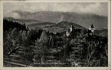 GLOGGNITZ NÖ Schloss Wartenstein Raxalpe 1942 Dt. Reich Postkarte Österreich