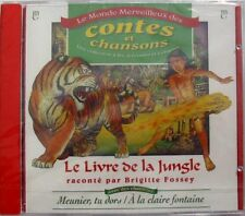 BRIGITTE FOSSEY (CD) LE LIVRE DE LA JUNGLE - NEUF SCELLE