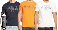 NWT Armani Jeans Graphic Tee Crew Neck Logo T-Shirt