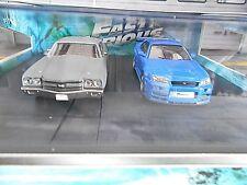SET Chevrolet Chevelle + Nissan Skyline 2009 Fast & the Furious Greenlight 1:43