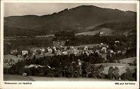 Hinterzarten Schwarzwald alte Ansichtskarte 1955 Panorama mit Hochfirst Wald