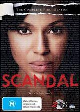 Scandal: Season 1 DVD [New/Sealed]