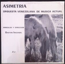 Asimetria Rare Jazz Gonzalo Mico Frank Zappa Herbie Hancock Venezuela Scarce