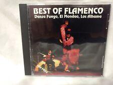 Best Of Flamenco Danza Fuego, El Mondao, Los Alhama 1997                  cd5352