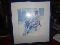 JACK NICHOLSON,,Autograph C.O.A  Framed, Sun faded Live ink,