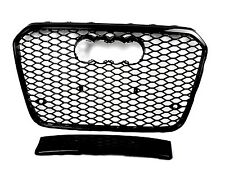 FRONT GRILL Look RS6 BLACK FOR AUDI A6 4G 11+ 14 Wabengrill Grille Stoßstange 0