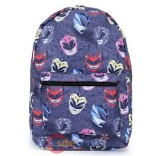 Power Rangers Backpack Sublimated All Over Prints School Bag