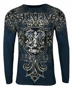 Xtreme Couture by AFFLICTION LIBERTARIAN Men's THERMAL T-Shirt