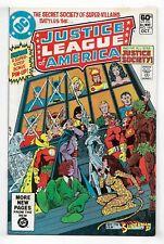 Justice League Of America 1981 #195 Fine/Very Fine