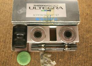 Vintage NOS NEW NIB Shimano 600 Ultegra / BB-6400 115mm Italian bottom bracket