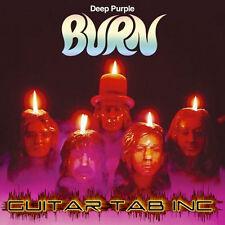 Deep Purple Digital Guitar Tab BURN Lessons on Disc Ritchie Blackmore