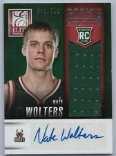 2013-14 Panini Elite Basketball Nate Wolters Rookie Essentials Auto Jersey Card