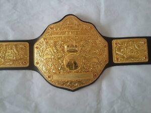 Fandu Belts Amazing Big Gold Heavyweight Championship Wrestling Title Belt