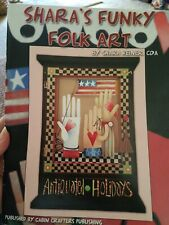 Decorative Tole Painting Pattern Book Shara'S Funky Folk Art