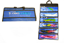 Lobo Lures Roll Up Trolling Lure Storage Bag for Marlin and Tuna Lures Free Ship