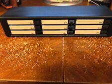 Fischer CBOX Cassette Tape Storage Case Black Storage 9 Slots