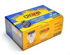 Quick Light Hookah 40mm Charcoals Carbopol Crown Hookah Charcoal 100pcs  Coals