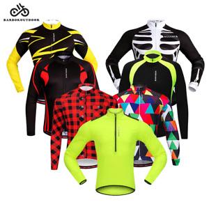 Cycling Jersey MTB Mountain Bike Tops Long Sleeve Shirts Sport Clothing Gifts