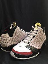 Jordan 23 White Black Red 2008 Size 10.5 318376-101