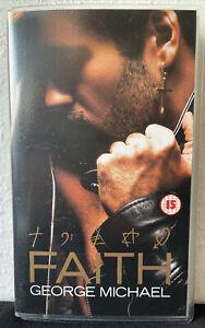 George Michael Faith VHS