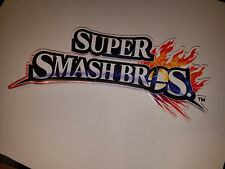 Super Smash Bros Nintendo Retail Sign Advertisement Promo Display 3DS Wii U