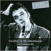 Live At Rockpalast, Ian Dury & The Blockheads, Audio CD, New, FREE & FAST Delive
