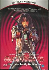 ALICE COOPER (WELCOME TO NIGHTMARE) NEW  DVD