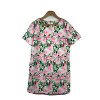Forcast Womens Dress Size 14 Short Sleeve Multicoloured Floral Short Length