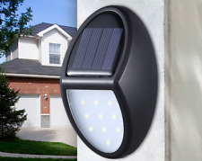 IP65 10 LED 300LM Waterproof Security Wall Light Solar Power Outdoor Patio Lamp