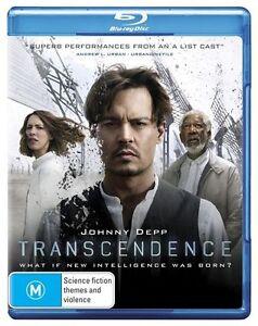 Transcendence (Blu-ray, 2014)*Terrific Condition*Johnny depp