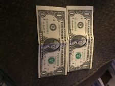 Misprint One Dollar Bills *Rare Misprints*
