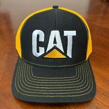 CAT Heavy Machinery Hat Richardson 112 Trucker Snapback Hat