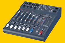Studiomaster Club XS 8-Kanal Mixer, Mischpult # DSP Effekte # MP3/USB/Bluetooth