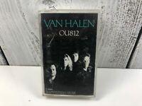 Van Halen OU812 Cassette Tape Album Warner Bros Hard Rock Good Used Condition