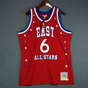 100% Authentic Julius Erving Dr J Mitchell Ness 1983 All Star Jersey Size 48 XL