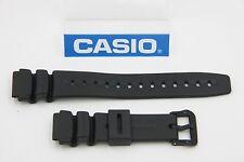 Casio Original Watch Band 19mm Black Rubber DW-290 AD-300 AW-506 DW-280 DW-340