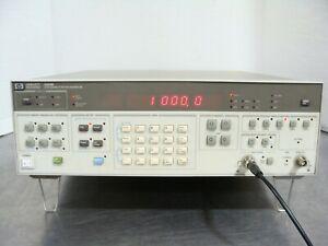 HP Agilent Keysight 3325B Audio / RF Synthesizer / Function Generator TESTED