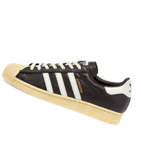 ADIDAS MENS Shoes Superstar - Black, White & Blue - FV2832