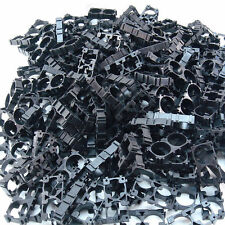 200pcs 18650 Battery 2x Spacer Radiating Shell EV Pack Plastic Heat Holder DIY