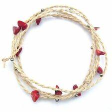 Coral Friendship Stone Costume Bracelets