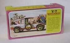 Repro box Matchbox moy nº 07 1912 rolls royce blisterbox