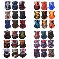 Seamless Face Neck Tube Mask Cap Scarf Headwear Bandana Wristband Outdoor Sport