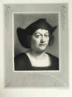 Gravur Porträt Mit Stempel Dry P.Mercurie Gavard 1843